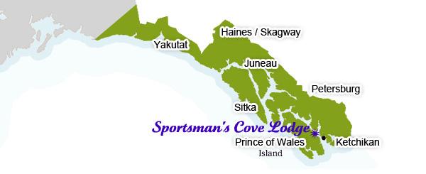 Lodge Location Map